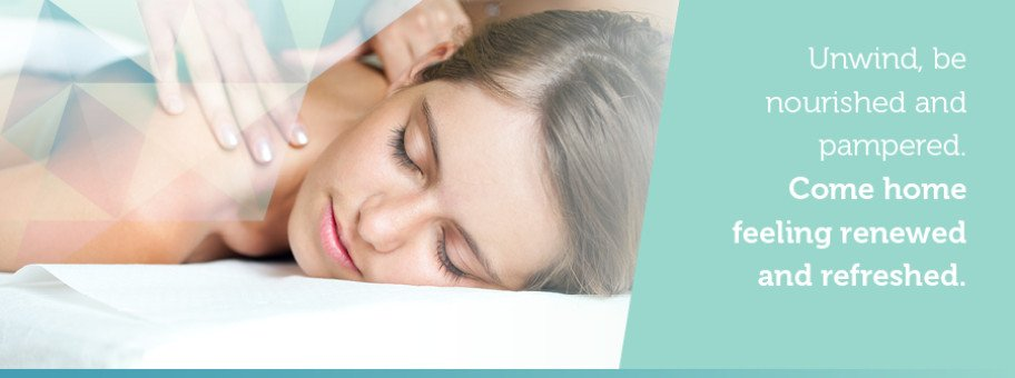 Be pampered and unwind