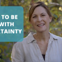 How to be OK with Uncertainty